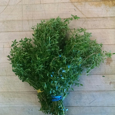 It's about thyme!