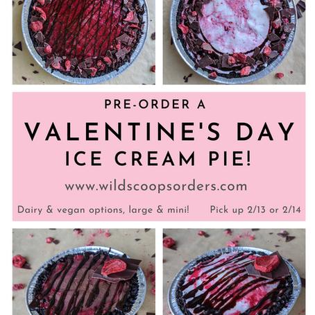 Valentine's Day Pies!
