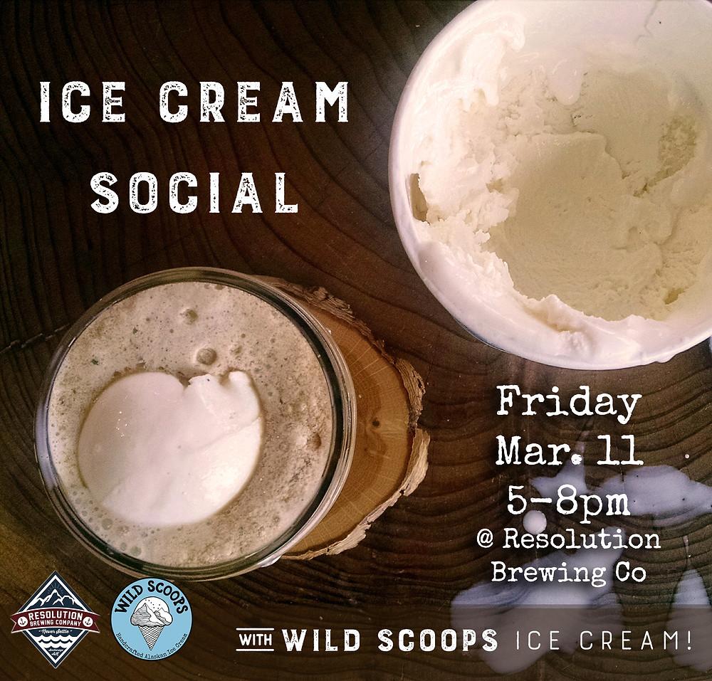 Wild scoops event beer