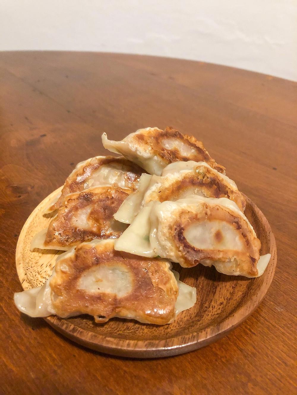 Gyoza kanpai deli Cookingwiththehamster