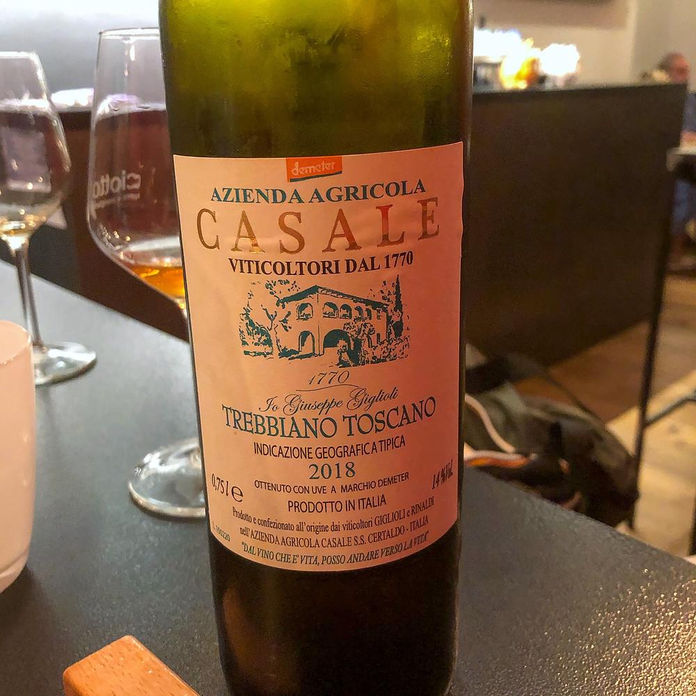 Azienda Agricola Casale - Trebbiano Toscano 2018 ciotto Cookingwiththehamster