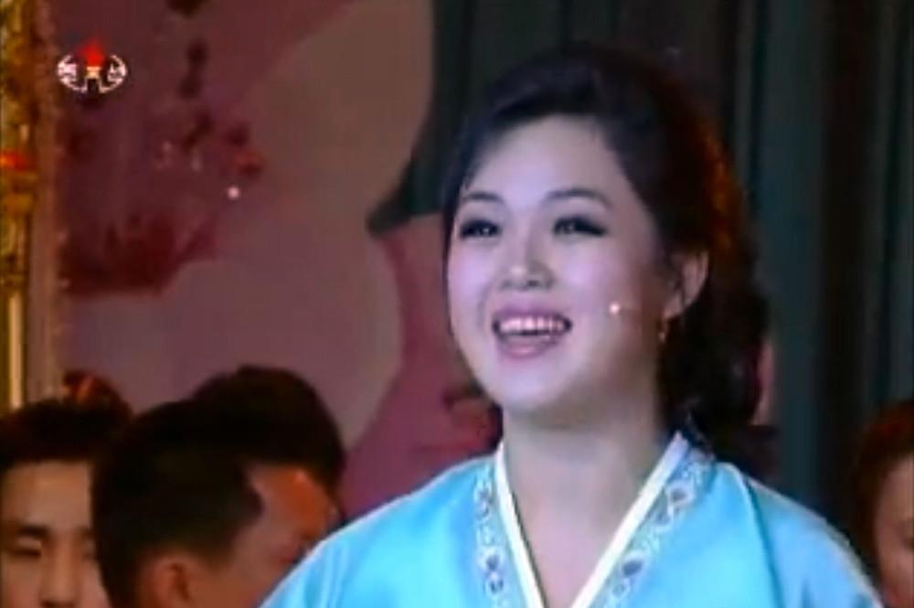 Ri Sol-ju as pop singer cookingwiththehamster