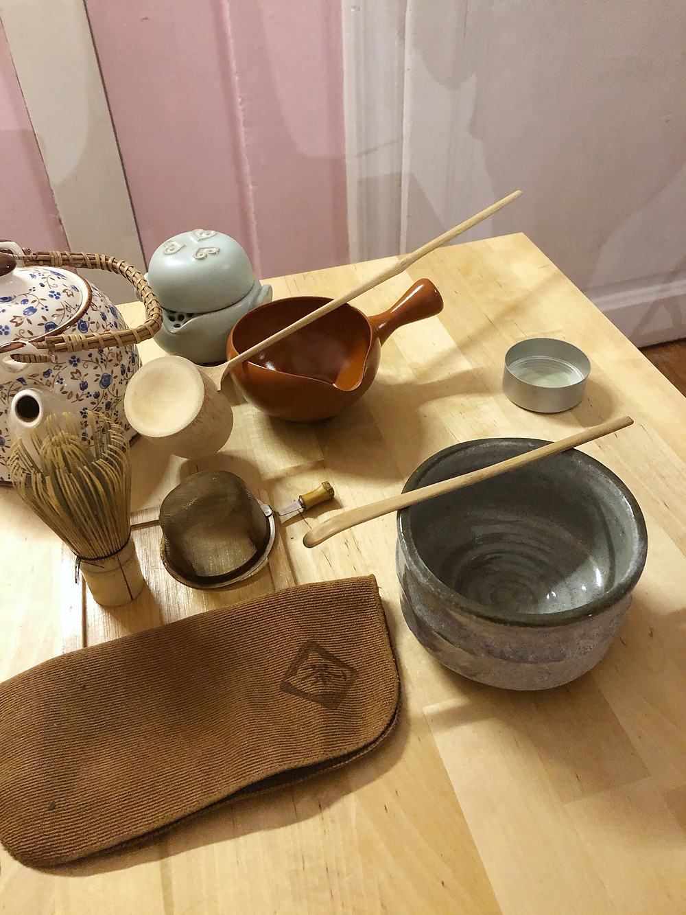 Japanese tea ceremony tools tea&tao Cookingwiththehamster
