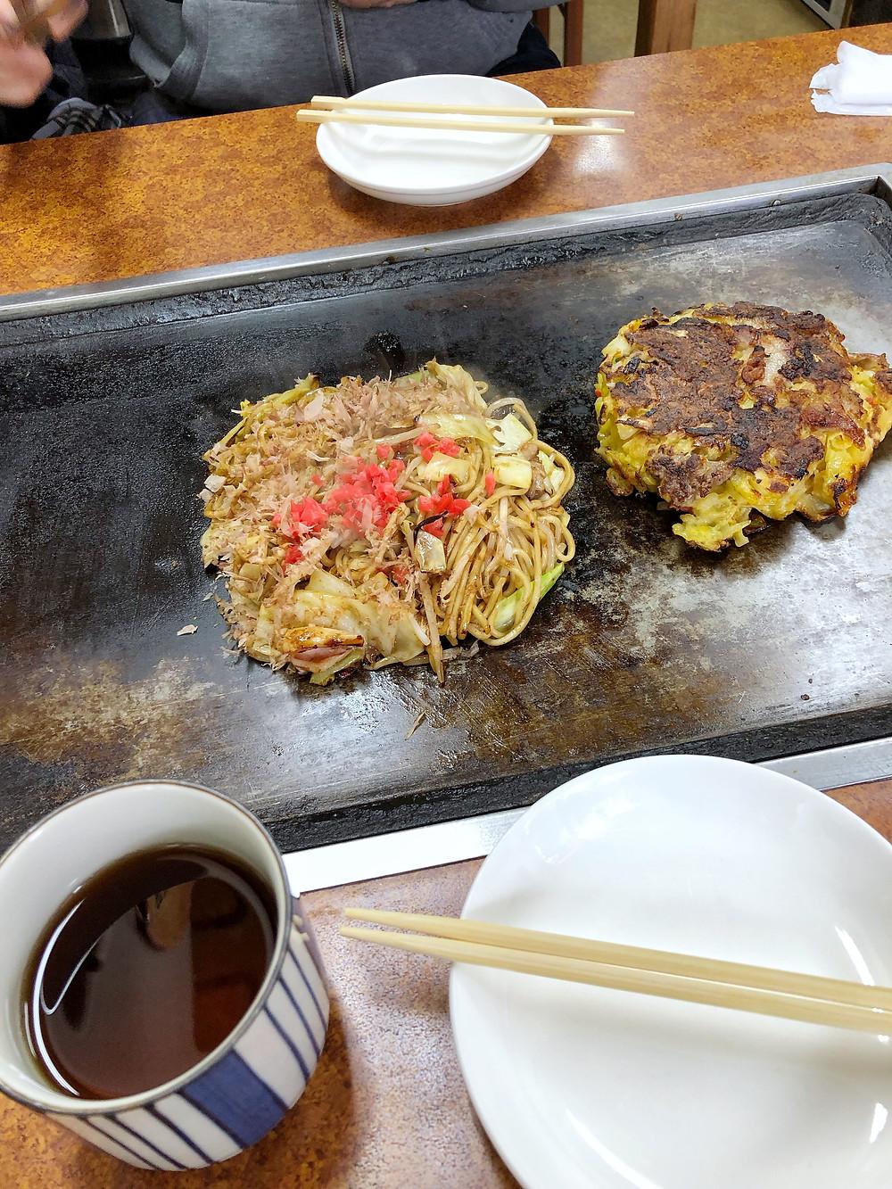 Okonomiyaki Katsu kyoto Cookingwiththehamster