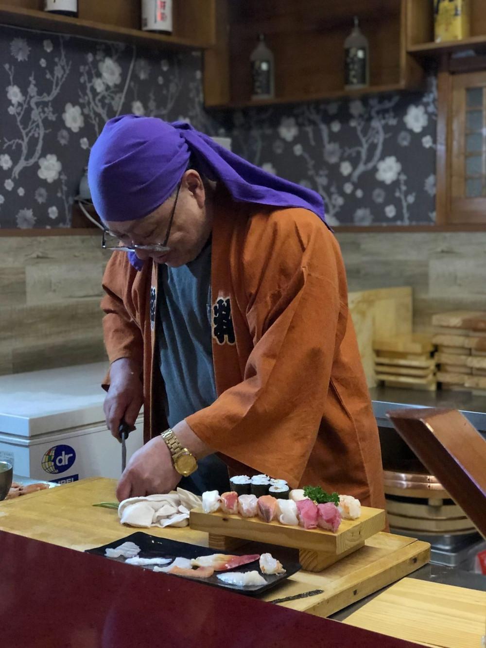 Kenji Fukimoto in DPRK cookingwiththehamster