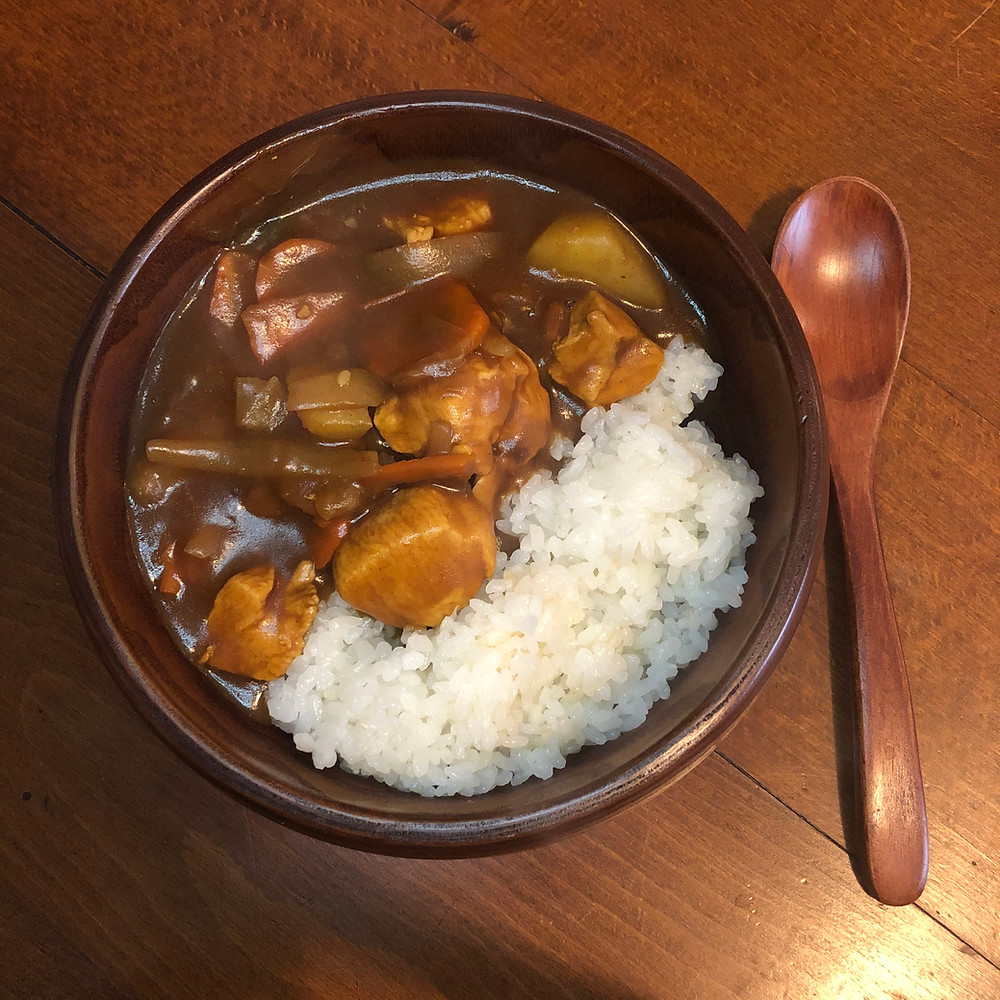 Karee raisu curry rice Cookingwiththehamster