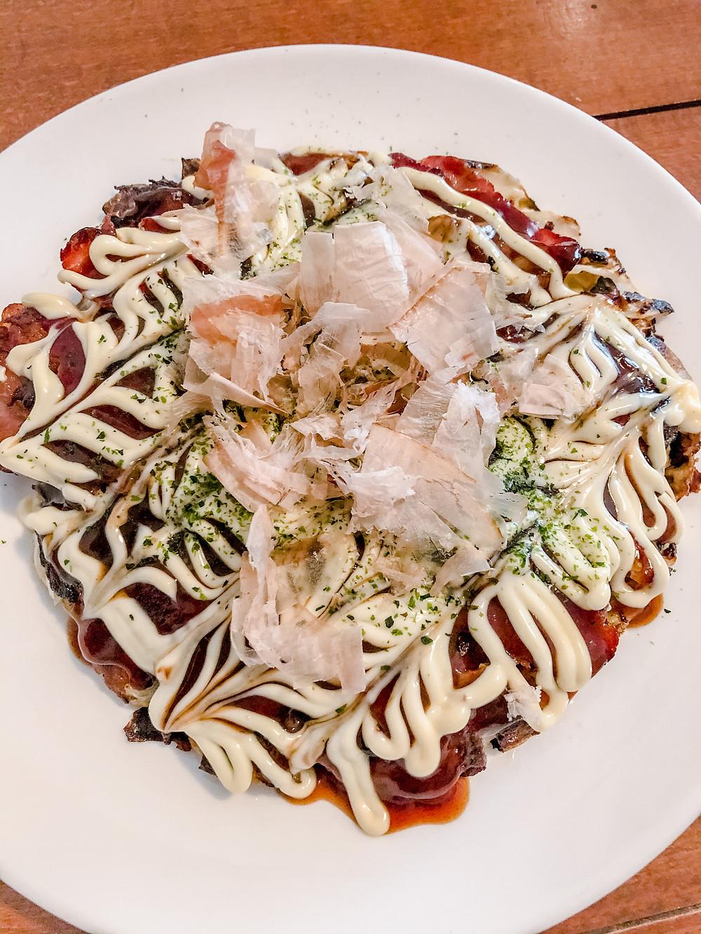 Okonomiyaki cookingwiththehamster