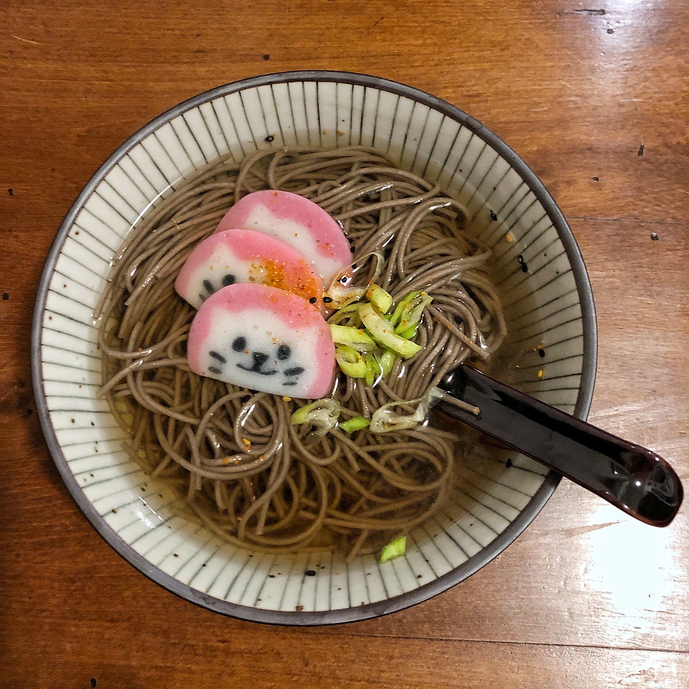 Toshikoshi soba cookingwiththehamster