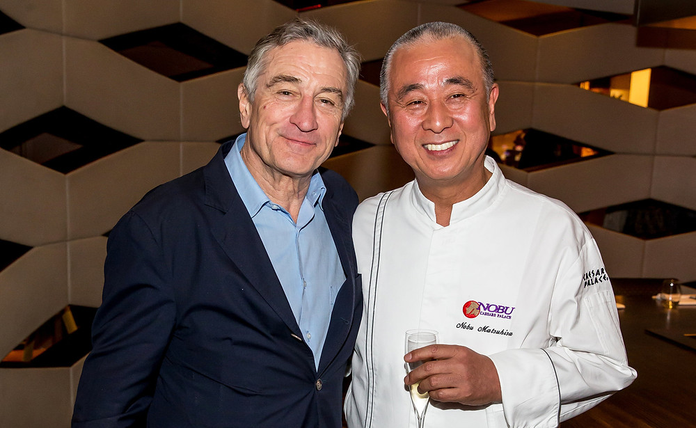 Nobu and De Niro cookingwiththehamster