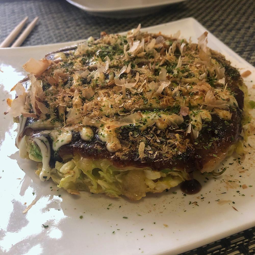 Okomiyaki satokina Cookingwiththehamster