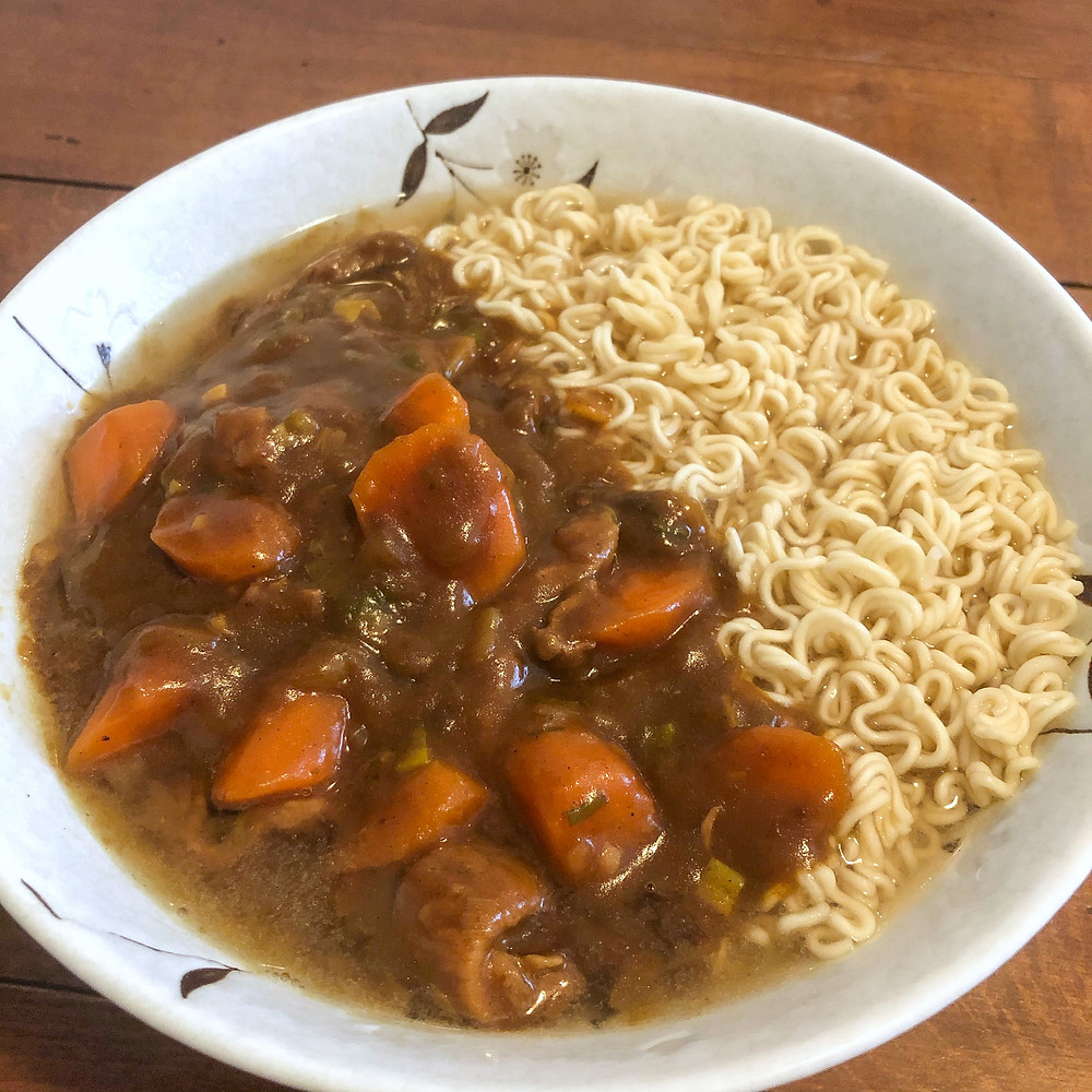 Curry ramen midnight diner netflix Cookingwiththehamster