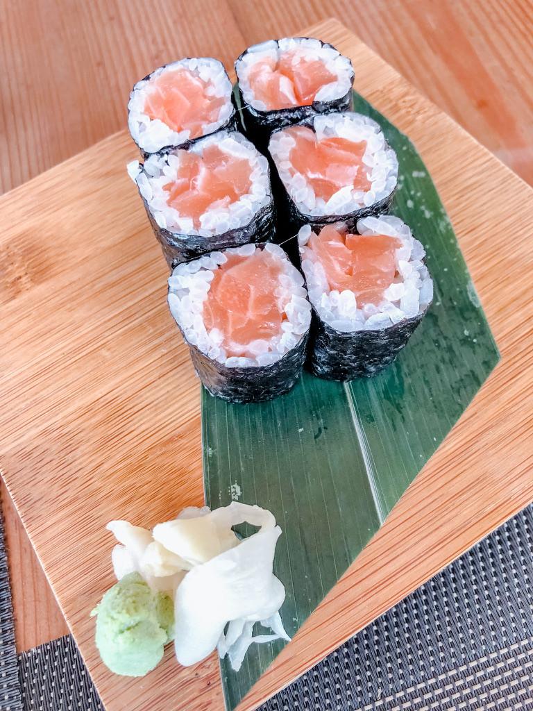 Ginger sushi lounge santorini Cookingwiththehamster