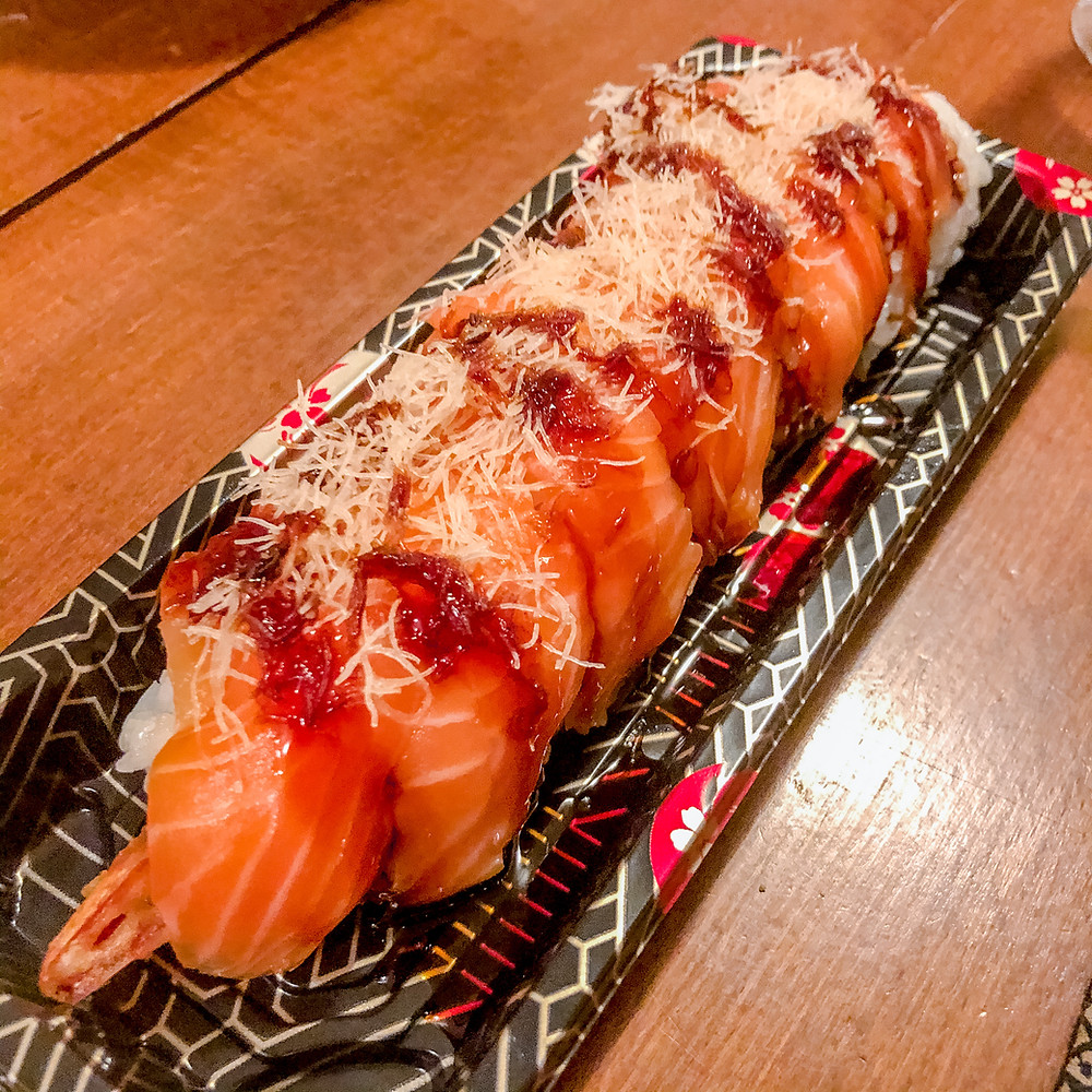 Dragon roll tomoyoshi porpora Cookingwiththehamster