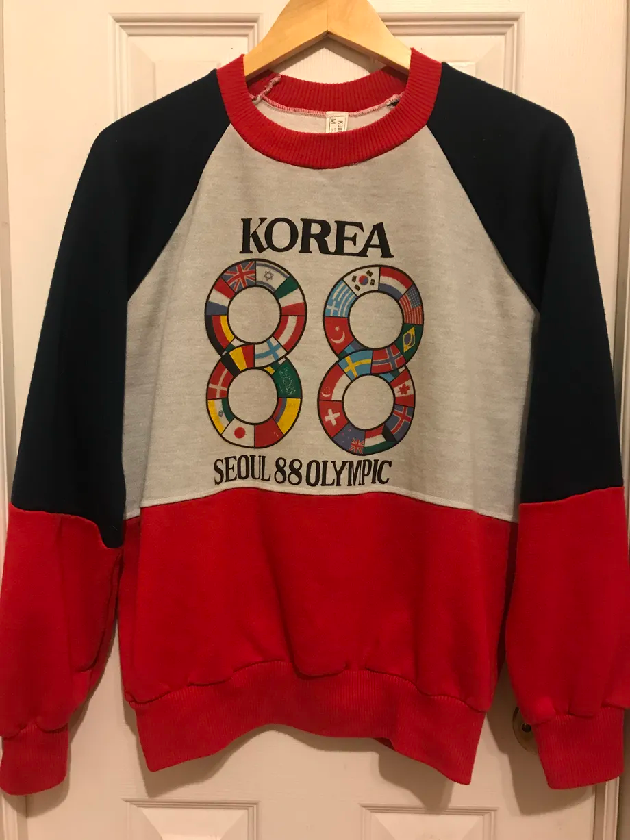 Korean Olympics fashion - 80s cookingwiththehamster