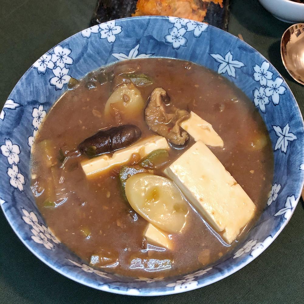 Doenjang Jjigae corea ricetta Cookingwiththehamster