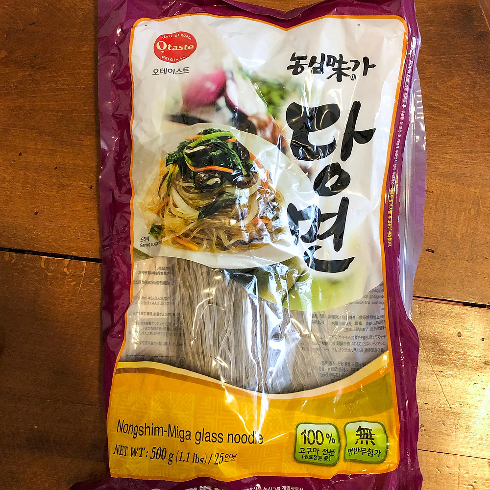 Dangmyeon japcahe ricetta recipe Cookingwiththehamster