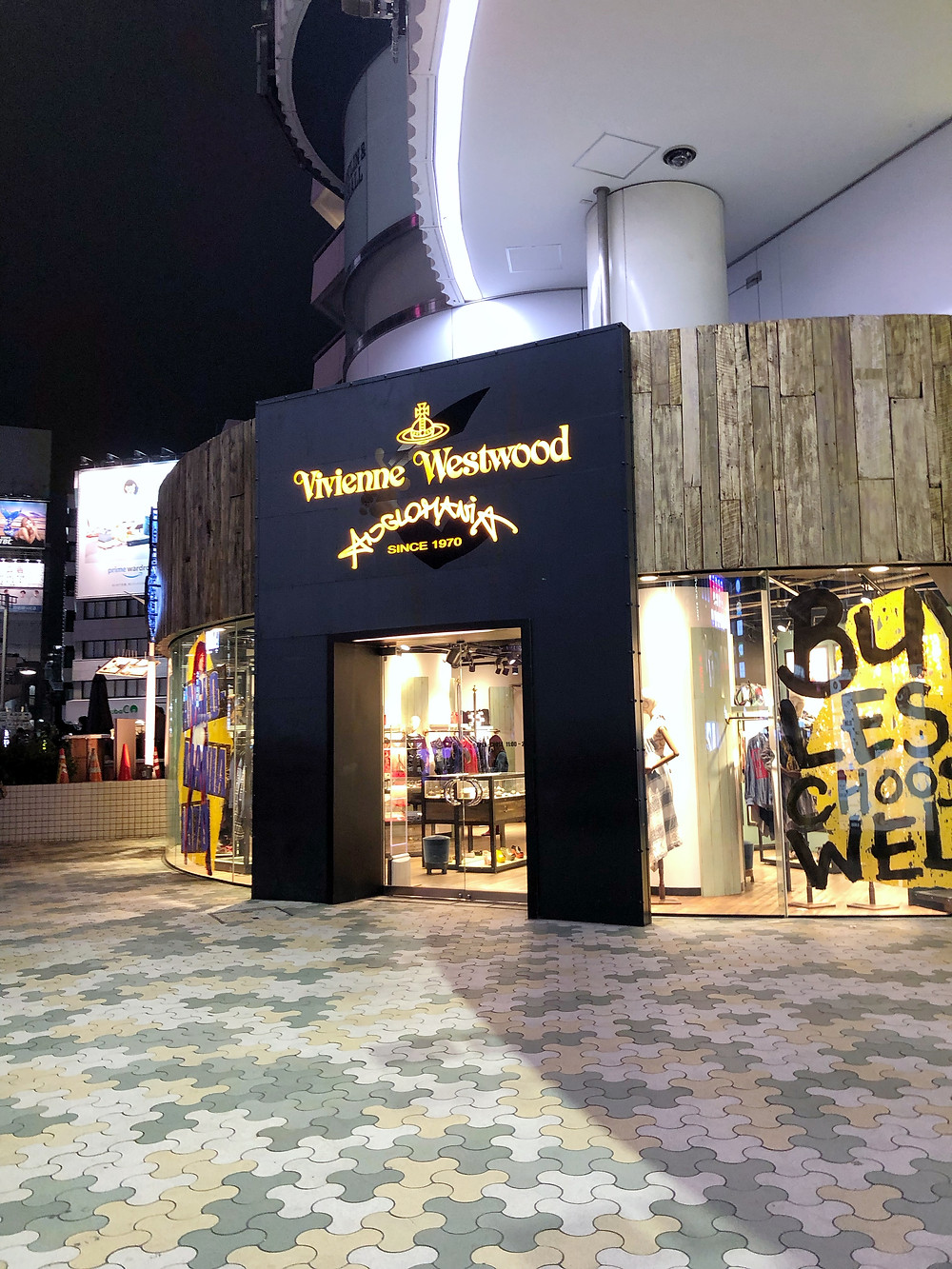 Vivienne Westwood Anglomania omotesando Cookingwiththehamster