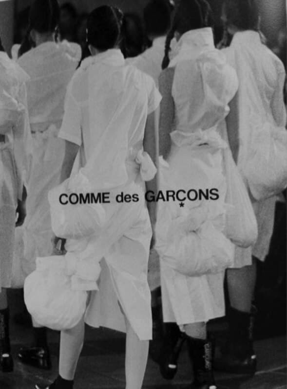 Comme des Garçons, Ad cookingwiththehamster