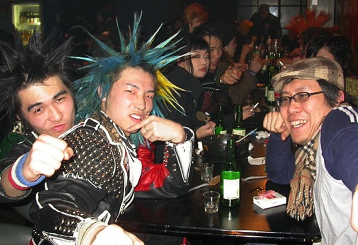 Punk scene in South Korea cookingwiththehamster
