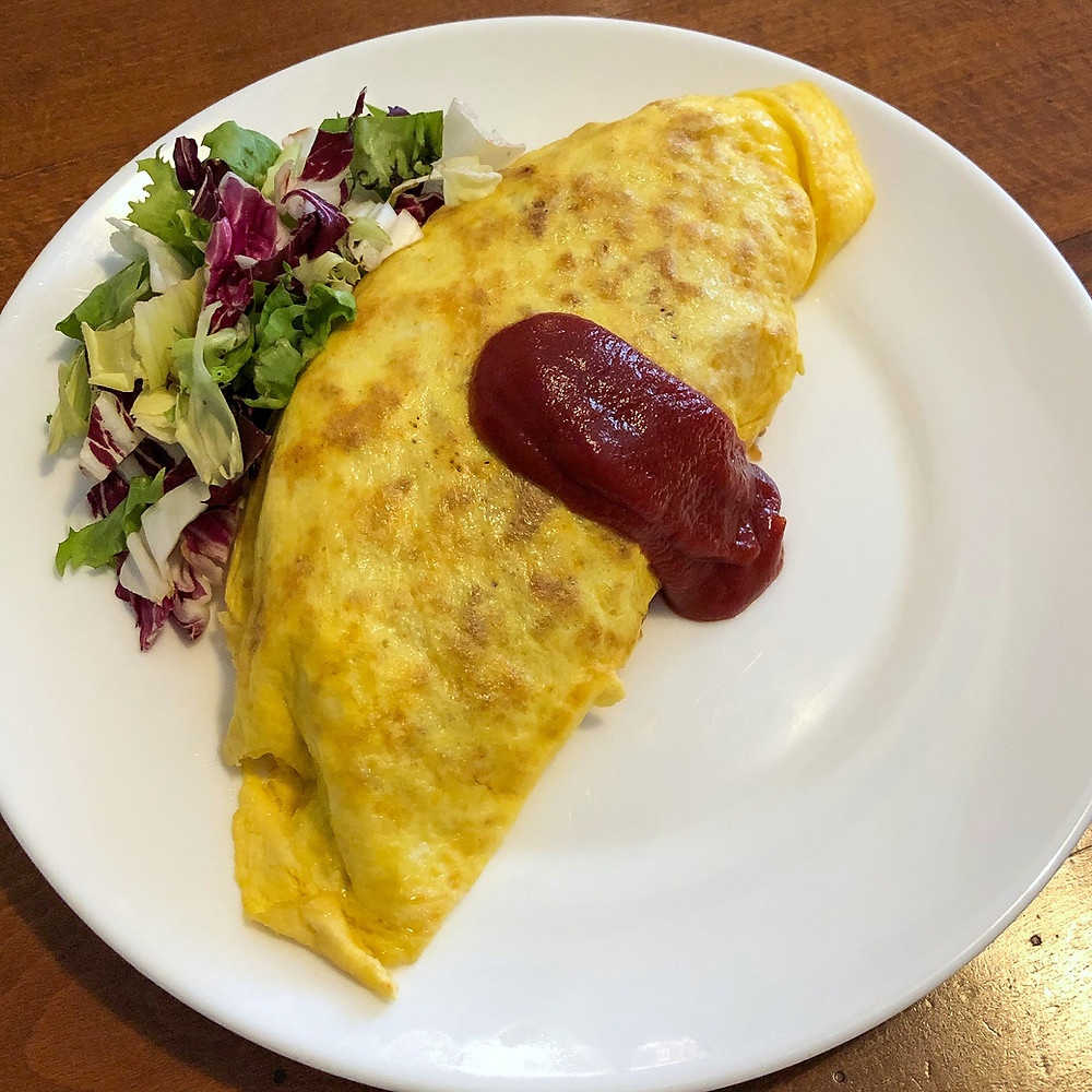 Omuraisu omurice ricetta Cookingwiththehamster