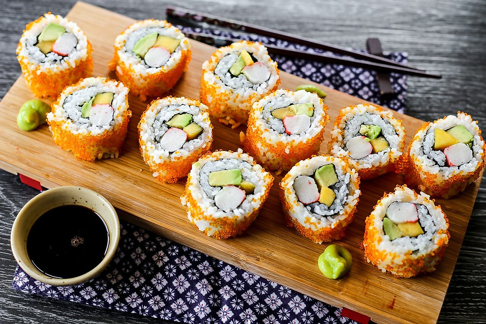 California roll cookingwiththehasmter