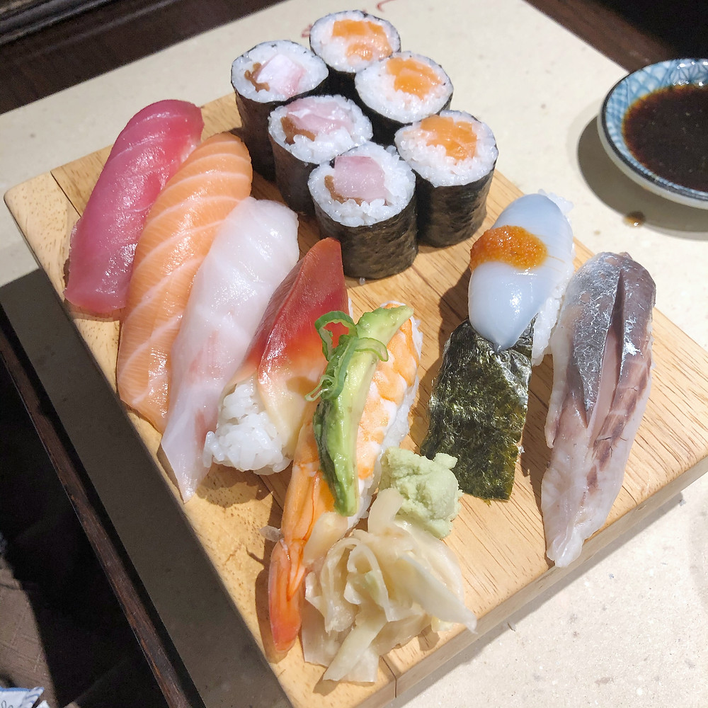 Sushi set shiro poporoya Cookingwiththehamster