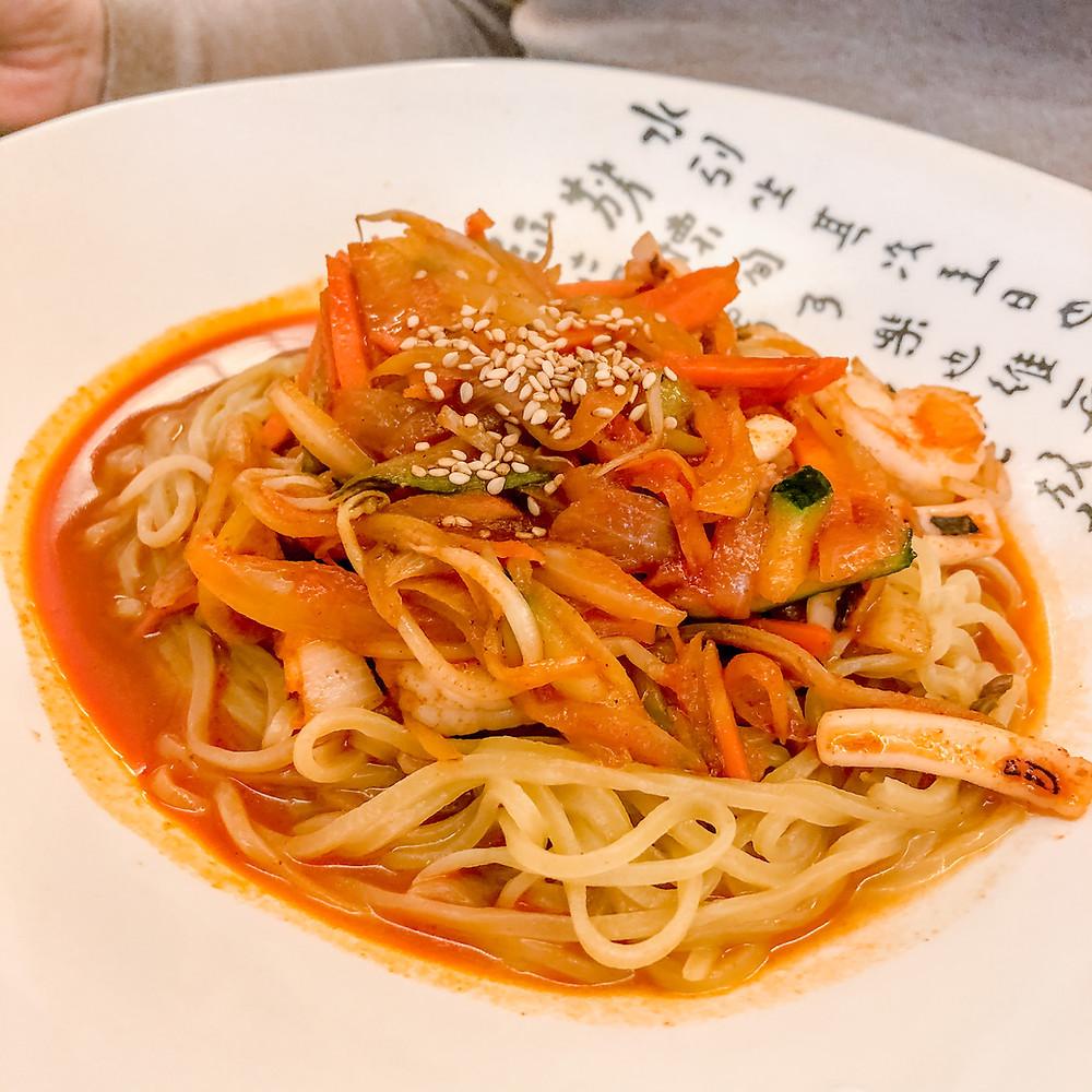Pokkeum jjampong noodle house Cookingwiththehamster