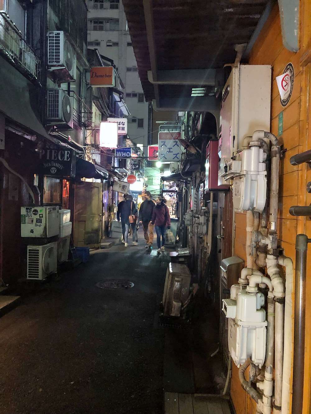 Golden Gai tokyo Cookingwiththehamster