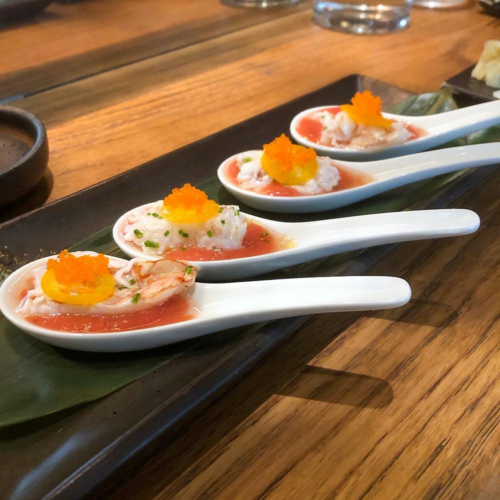 Gazpacho shrimps neta Cookingwiththehamster