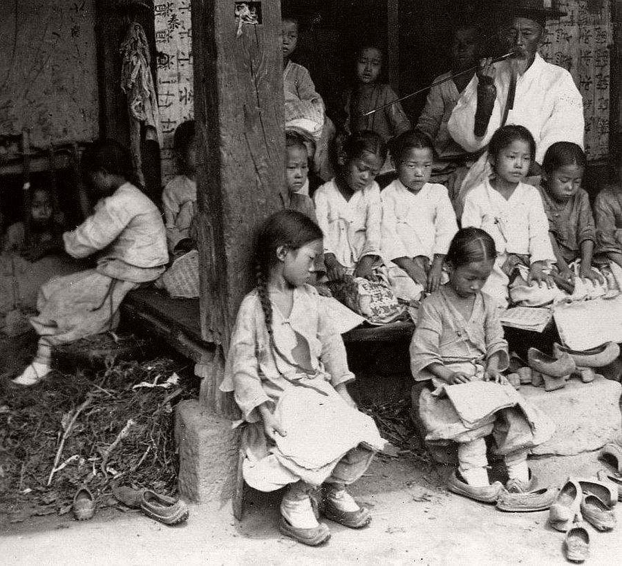 Public school - Korean Empire era cookingwiththehamster