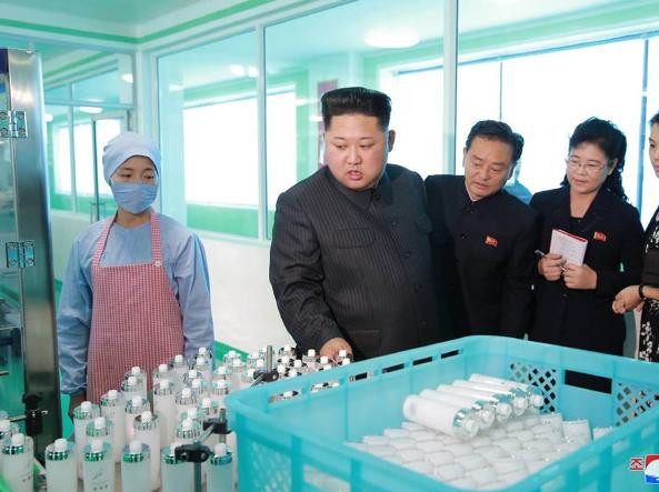 Kim Jung-un visiting the factory cookingwiththehamster