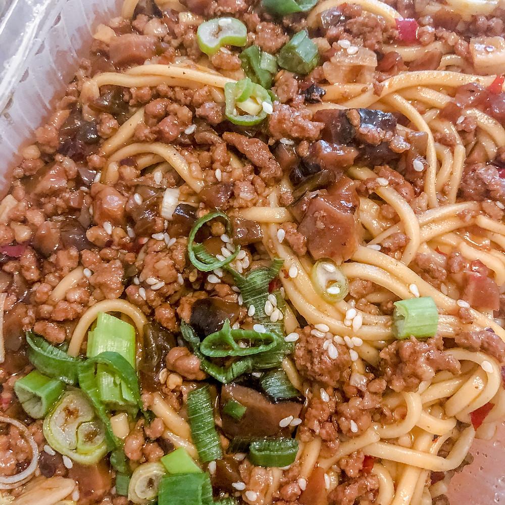 Dan dan noodles wencheng Cookingwiththehamster