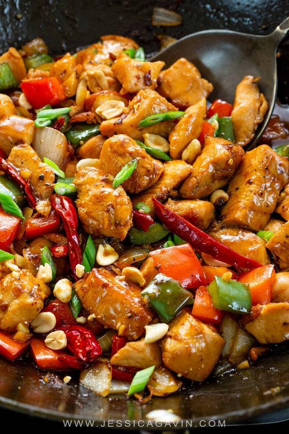 Pollo Kung Pao cookingwiththehamster