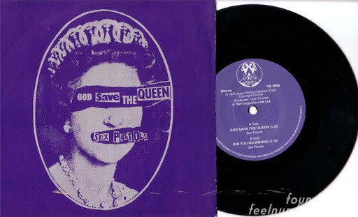 God Save the Queen by Sex Pistols cookingwiththehamster