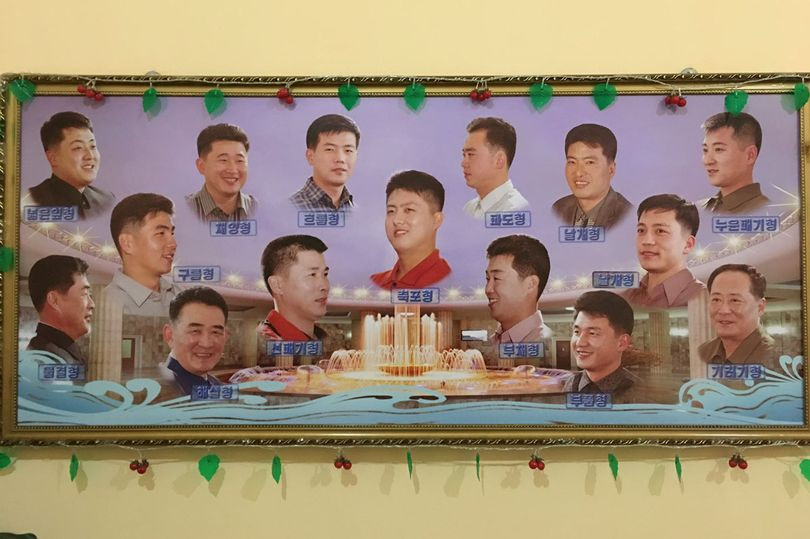 DPRK men hairstyle cookingwiththehamster