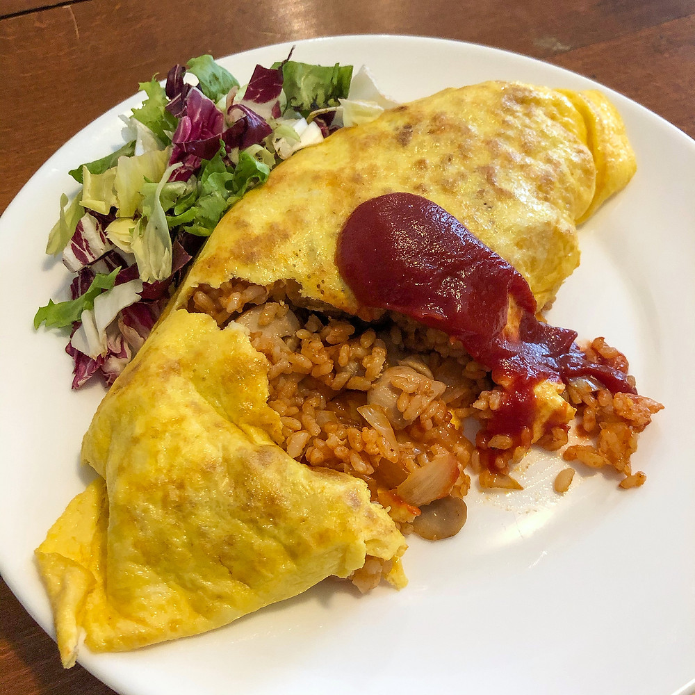 Omuraisu omurice ricetta recipe Cookingwiththehamster