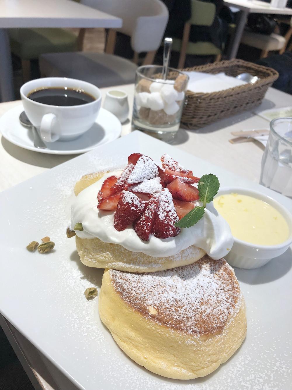 A Happy Pancake shibuya Cookingwiththehamster