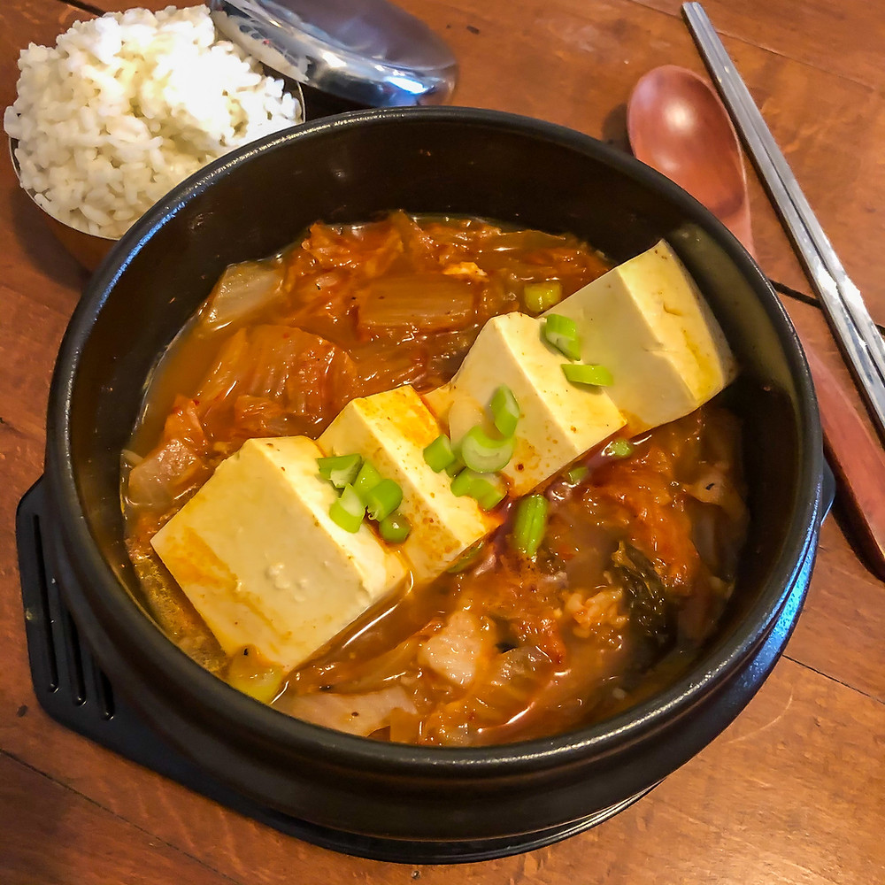 Kimchi jjigae stew recipe ricetta Cookingwiththehamster