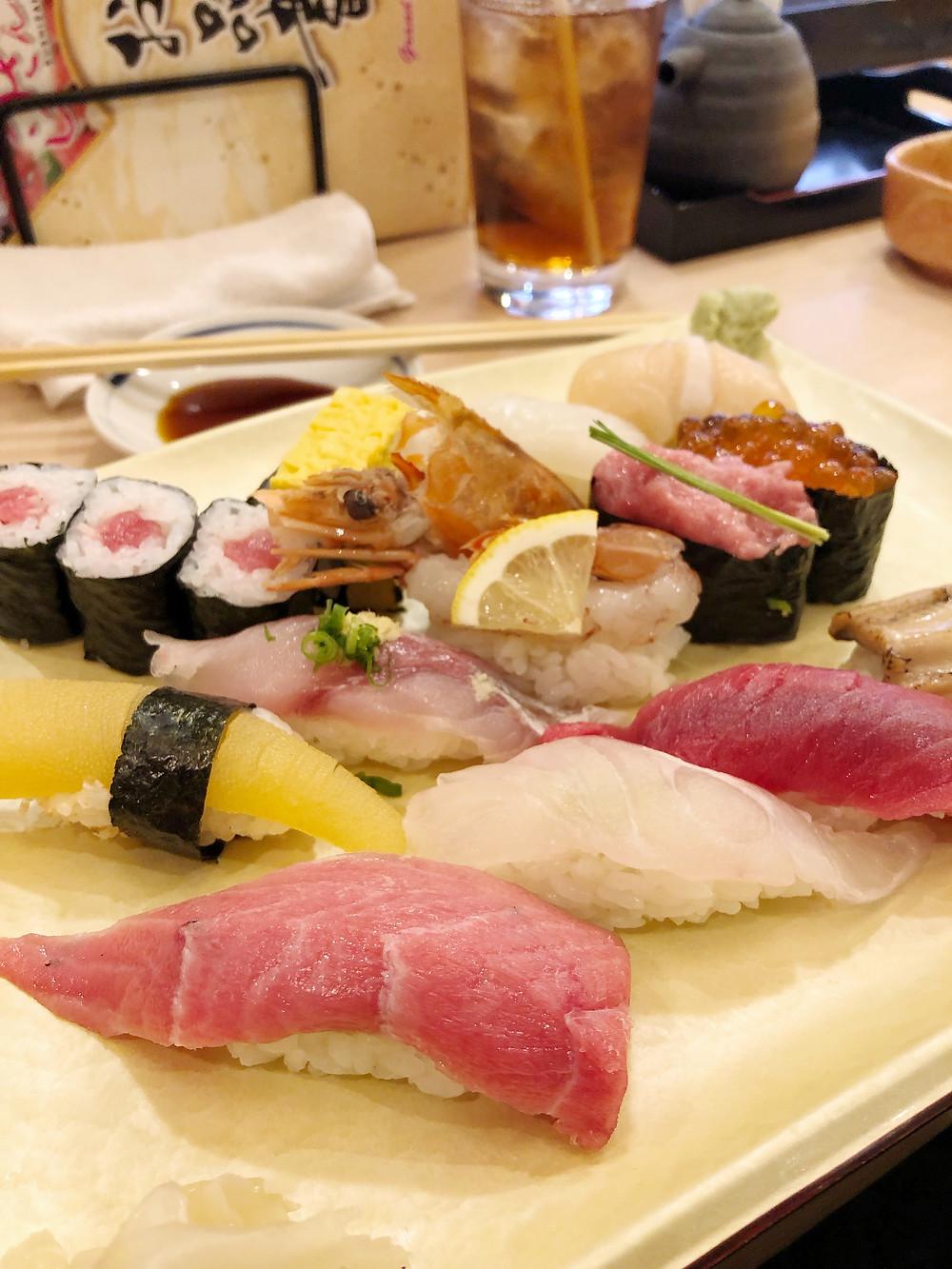 Sushi Zanmai osaka Cookingwiththehamster