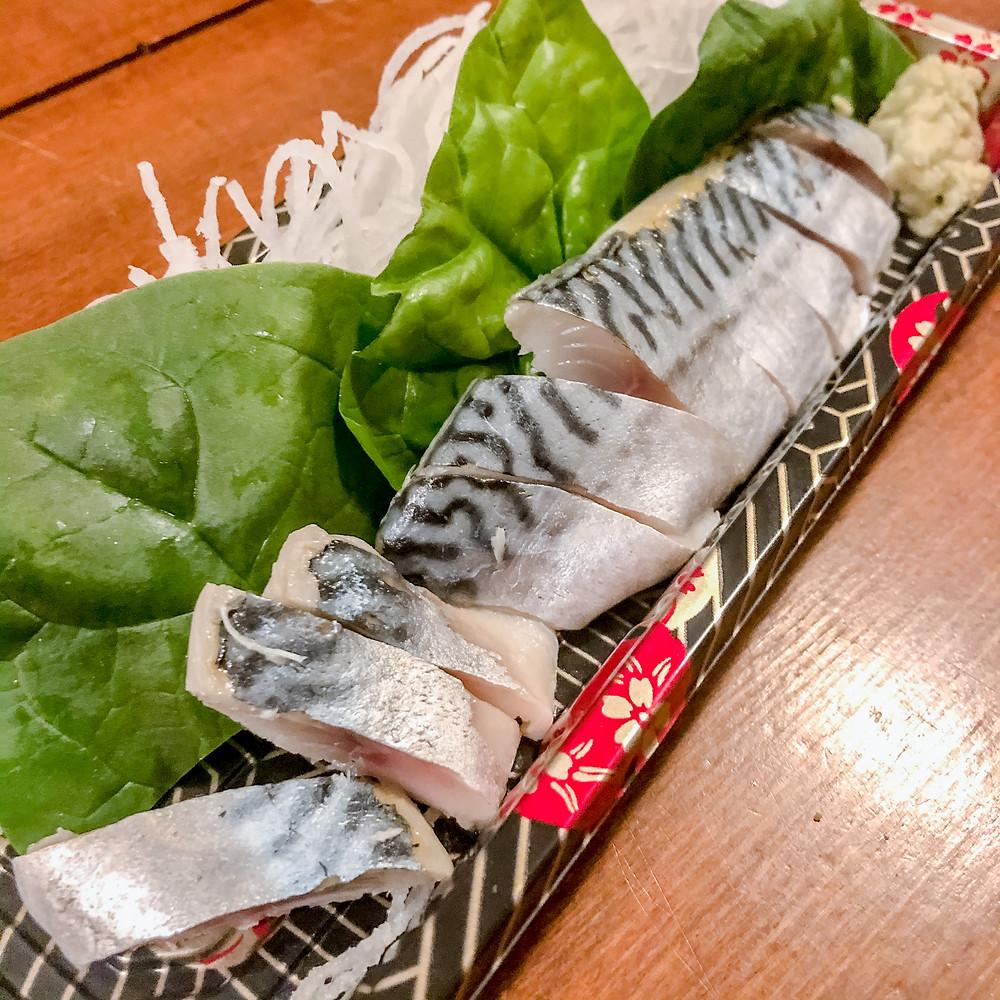 Marinated mackerel TOMOYOSHI PORPORA Cookingwiththehamster