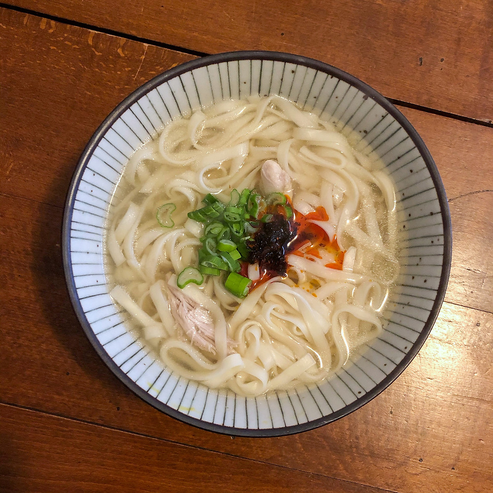 Chinese chicken noodles soup ricetta recipe Cookingwiththehamster