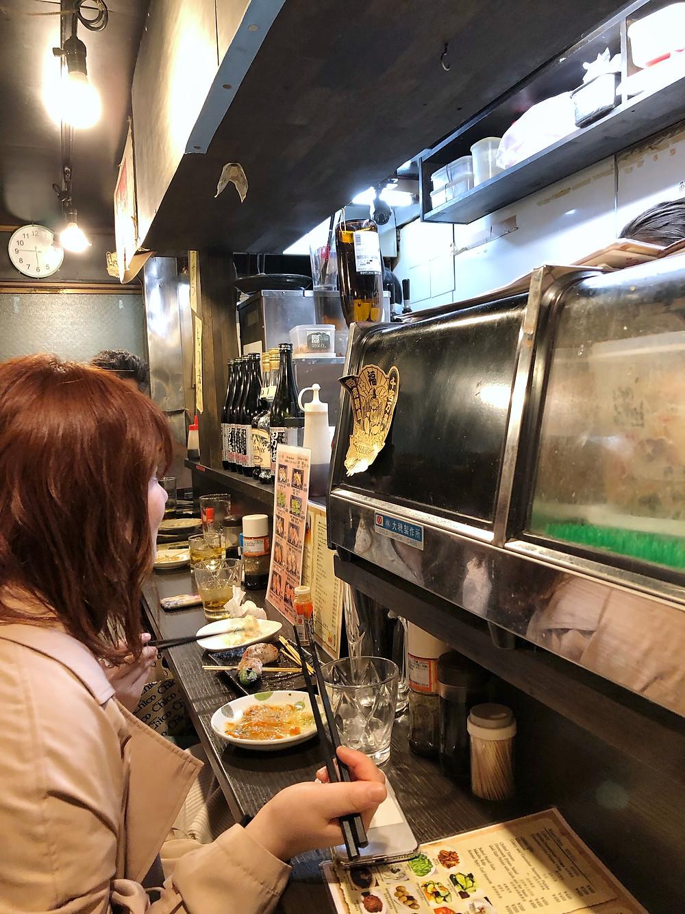 Fukuhaichi omoide yokocho Cookingwiththehamster