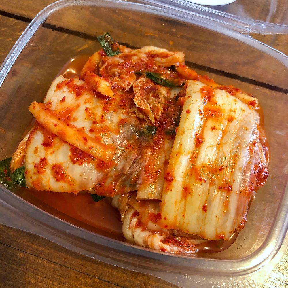 Kimchi li-sei deli milano Cookingwiththehamster