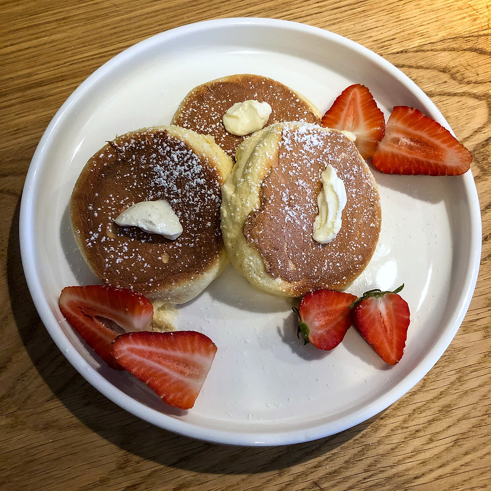Fluffy pancakes japanese recipe ricetta Cookingwiththehamster