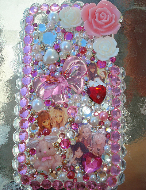Hime gyaru cell phone cookingwiththehamster