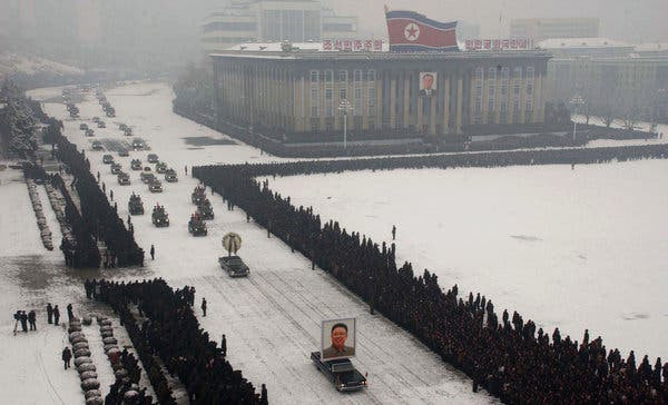 Kim Jong-il funeral cookingwiththehamster