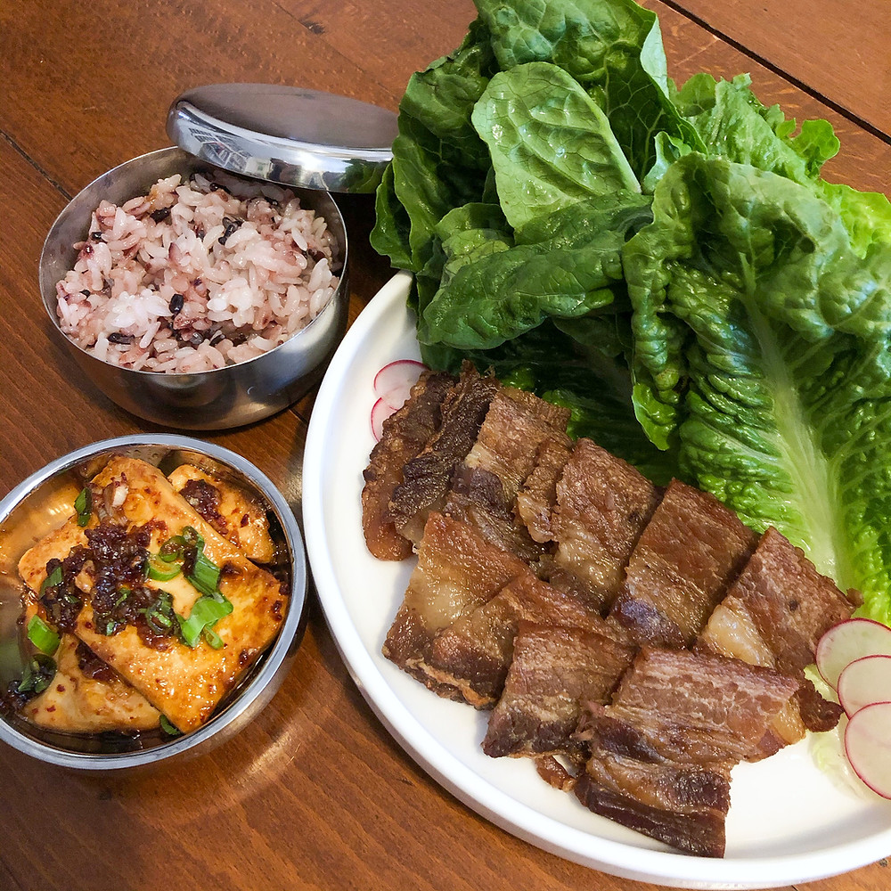 Bo ssam ricetta recipe Cookingwiththehamster