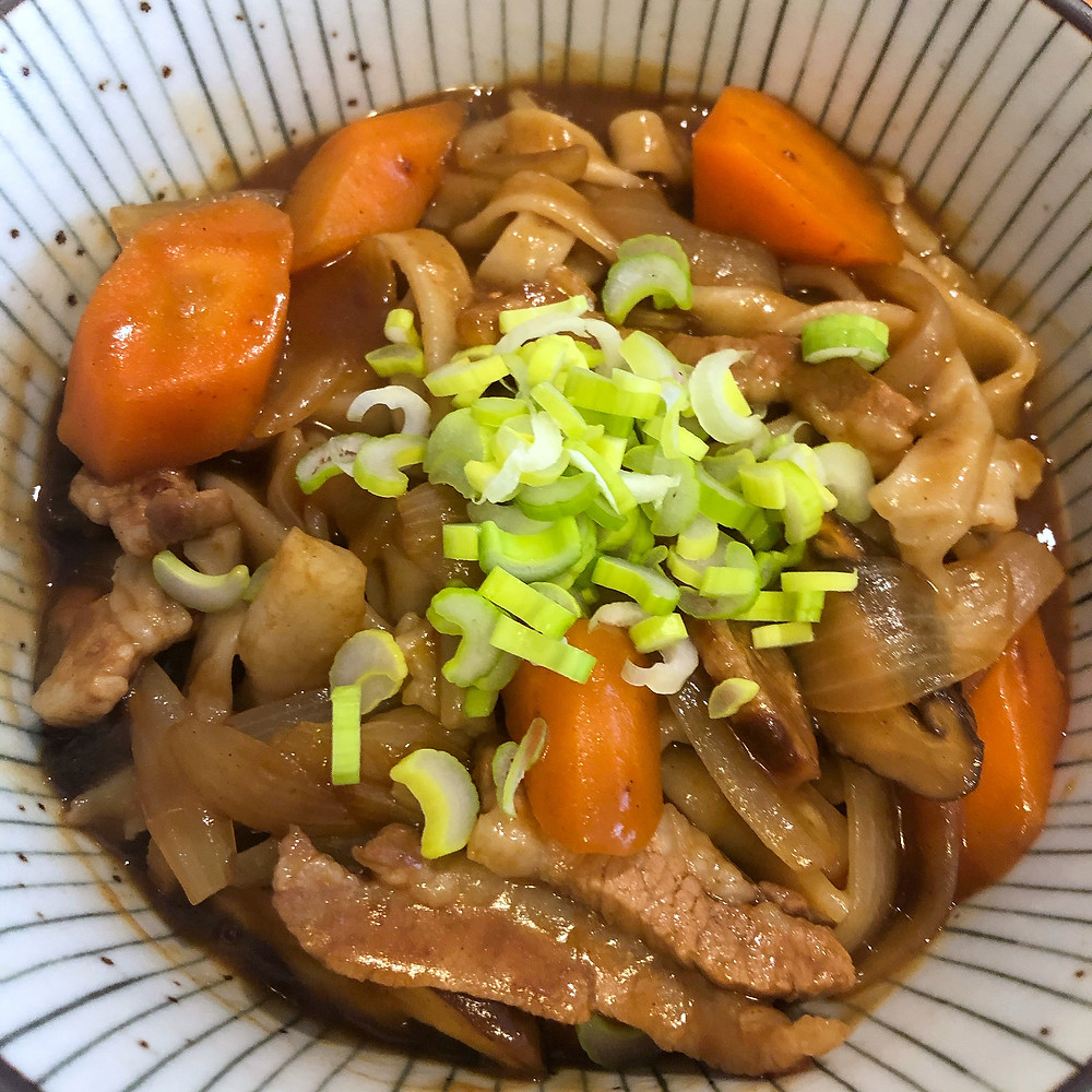 Karee udon curry ricetta recipe Cookingwiththehamster