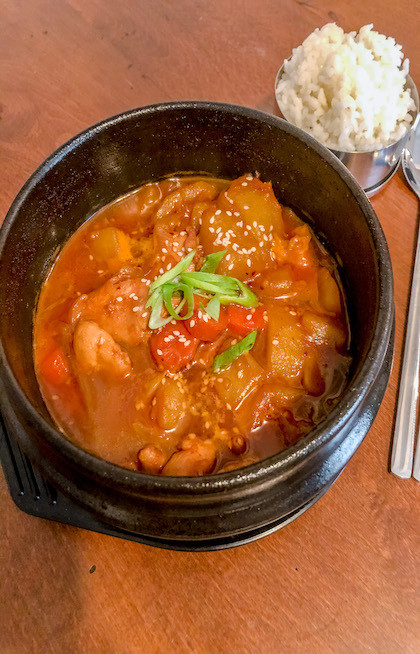 Dak doritang ricetta recipe cookingwiththehamster