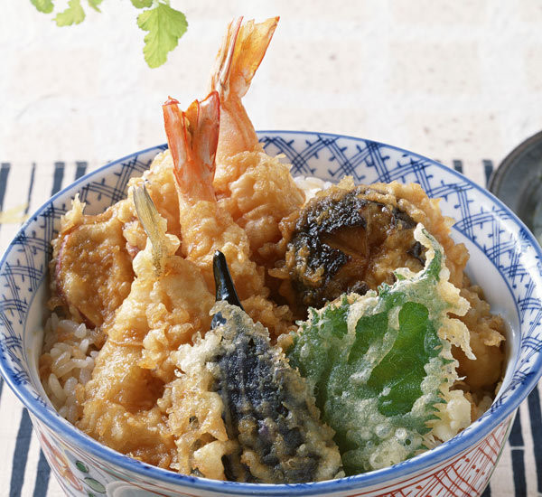 donburi tendon cookingwiththehamster